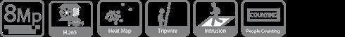 4-kanavan IP tallennin (4 PoE)